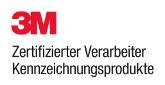 3M - Zertifizierter Verarbeiter Kennzeichnungsprodukte