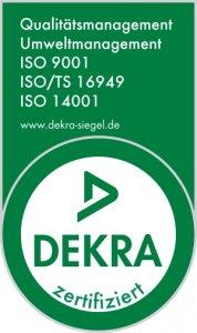 ISO 9001, 14001 und ISO/TS 16949