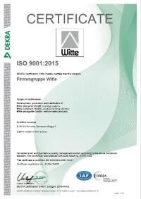 iso 9001 2015 en vorschau - Witte plusprint GmbH