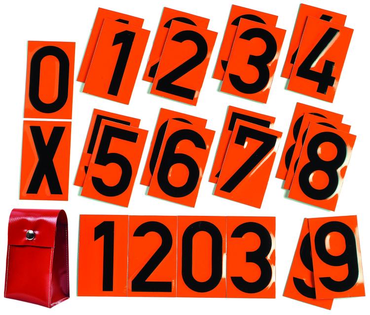 1000200 mit roter Tasche - Warntafeln
