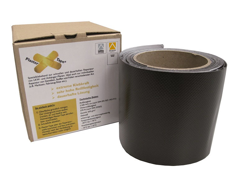 plastertape 100 mm mit Verpackung - Plaster-Tape® / Rolle 100 mm x 5 m (Einzelansicht)