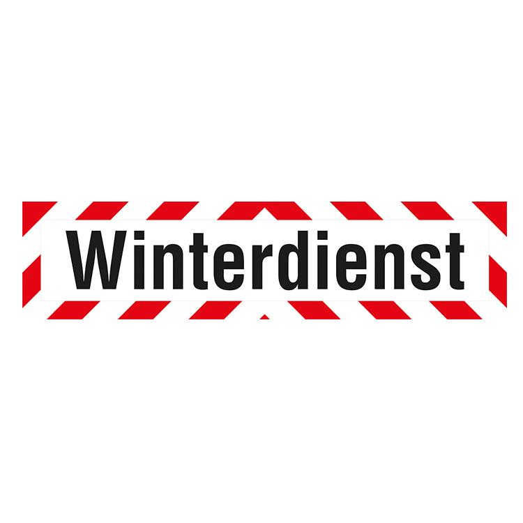 """0000 9000325 Winterdienst - LKW-Schild """"Winterdienst"""" / 660 x 160 mm (Einzelansicht)"""