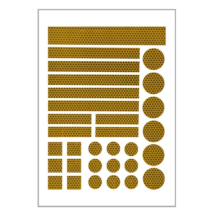 0036 210 91500036a - pluslite®-Reflexfolienstanzteile / 31-teiliges Set (Einzelansicht)
