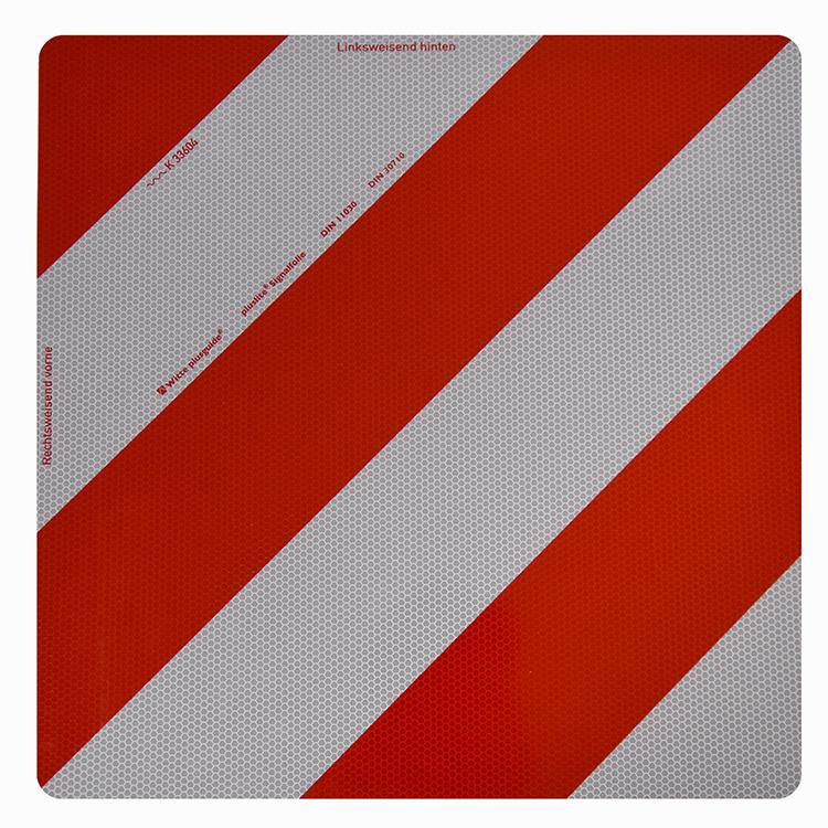 1600010 - Parkwarntafel Form A, starr / 423 x 423 mm (Einzelansicht)