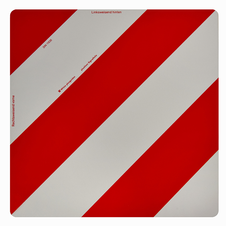1800000 - Warntafel starr / 423 x 423 mm retroreflektierend RA 1 / A (Einzelansicht)
