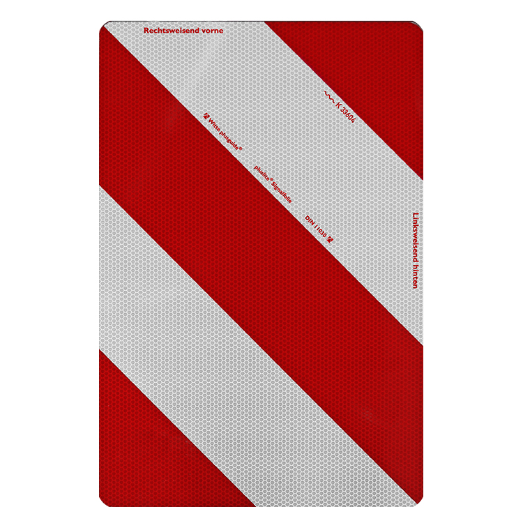 1800090 LW Tafel 282 x 423 mm - Warntafeln für Fahrzeuge mit Überbreite / Warntafeln LaFo