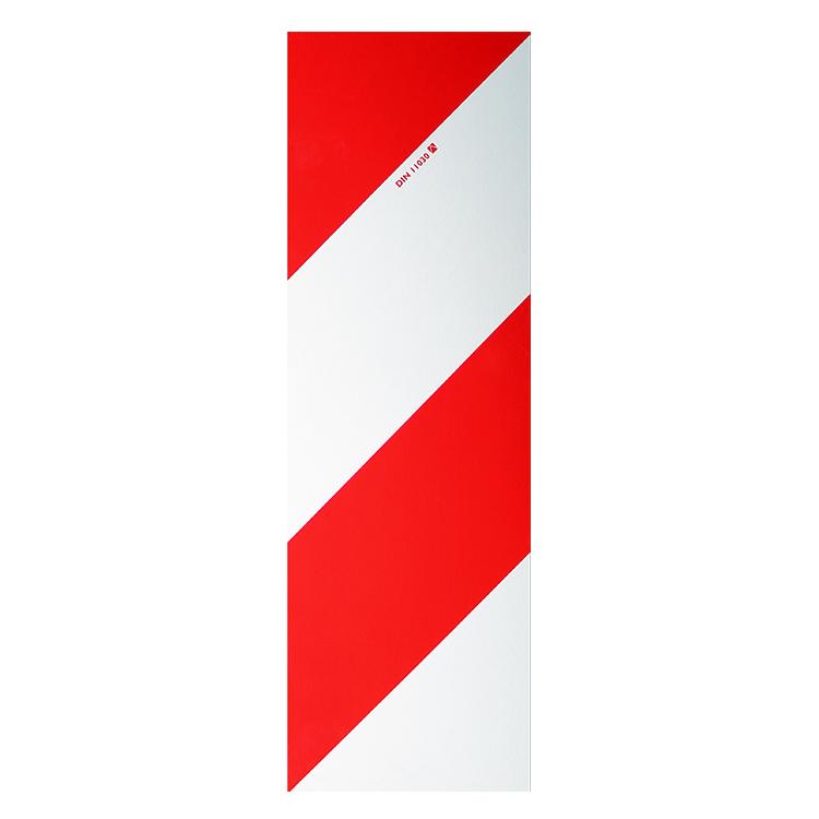 1800140 LW Tafel 141 x 423 mm - Warning sign / 141 x 423 mm retroreflective RA 1 / A (single view)