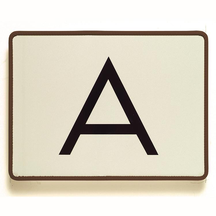 1900000 - A-Warntafel starr / 400 x 300 mm (Einzelansicht)