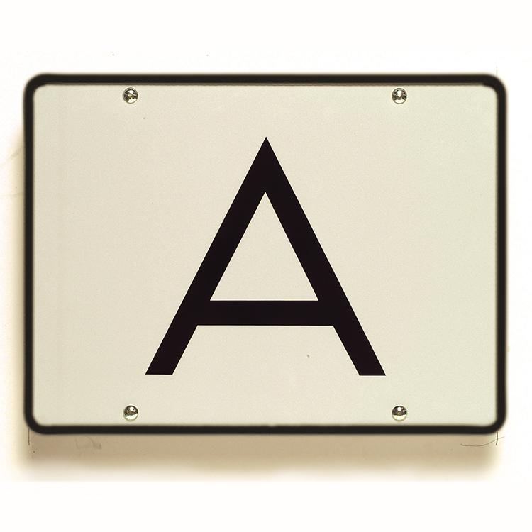 1900040 - A-Warntafel starr / 400 x 300 mm (Einzelansicht)