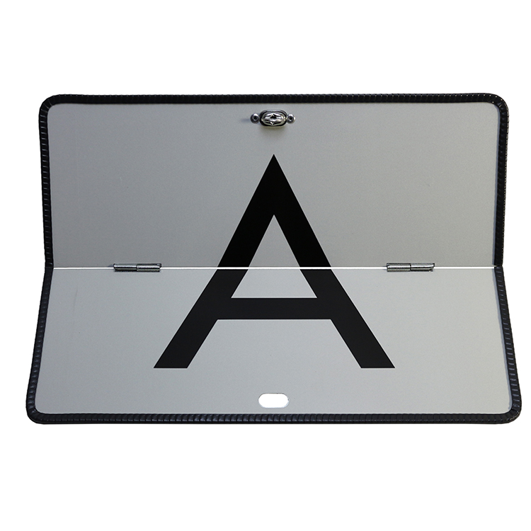 1900063 A Warntafel horizontal klappbar 400 x 300 mm - A-Warntafel horizontal klappbar / 400 x 300 mm (Einzelansicht)