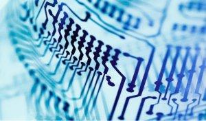 Gedruckte Elektronik Schaltkreis