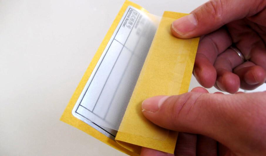 Laminatgeschützte Etiketten – plusprotect®
