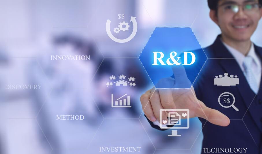 r and d 1 - Forschung und Entwicklung