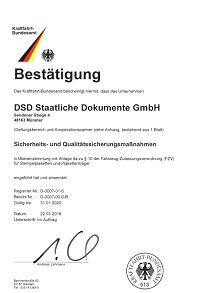 KBA SPPT DSD Vorschau - DSD Staatliche Dokumente GmbH
