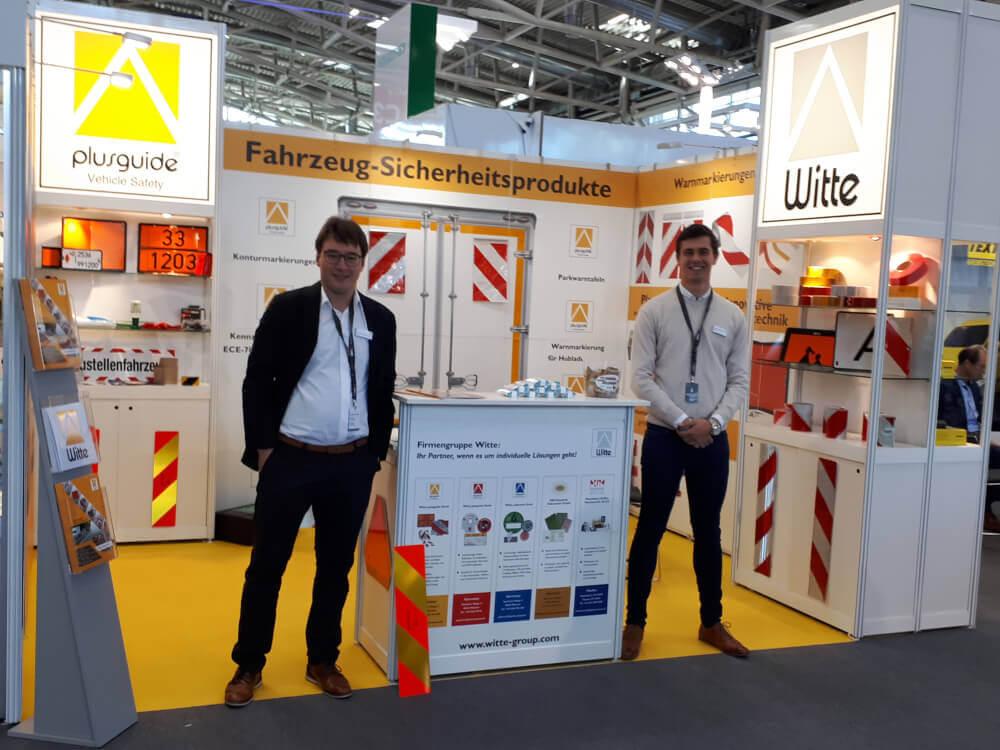Witte plusguide® auf der WM SE Messe in München