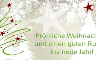 Witte wünscht frohe Festtage!