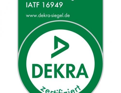 Die Witte plusprint GmbH ist IATF 16949 zertifiziert
