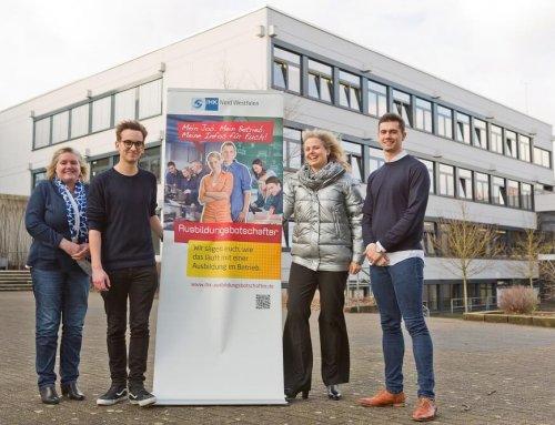 Projektstart mit IHK-Ausbildungsbotschafter Manuel Gersitz