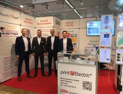 Neue Drucktechnologien im Fokus – Witte auf der LOPEC 2019