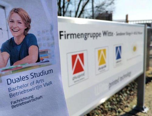 Das duale Studium bei der Witte plusprint GmbH