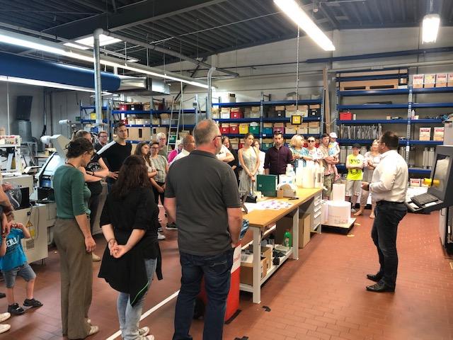 Witte Group Sommerfest Betriebsführung