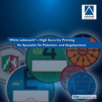 thumbnail safemark plaketten siegelsysteme - Zulassungsbescheinigungen | DSD