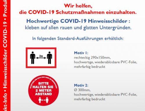 COVID-19: Witte liefert auch in schwierigen Zeiten!