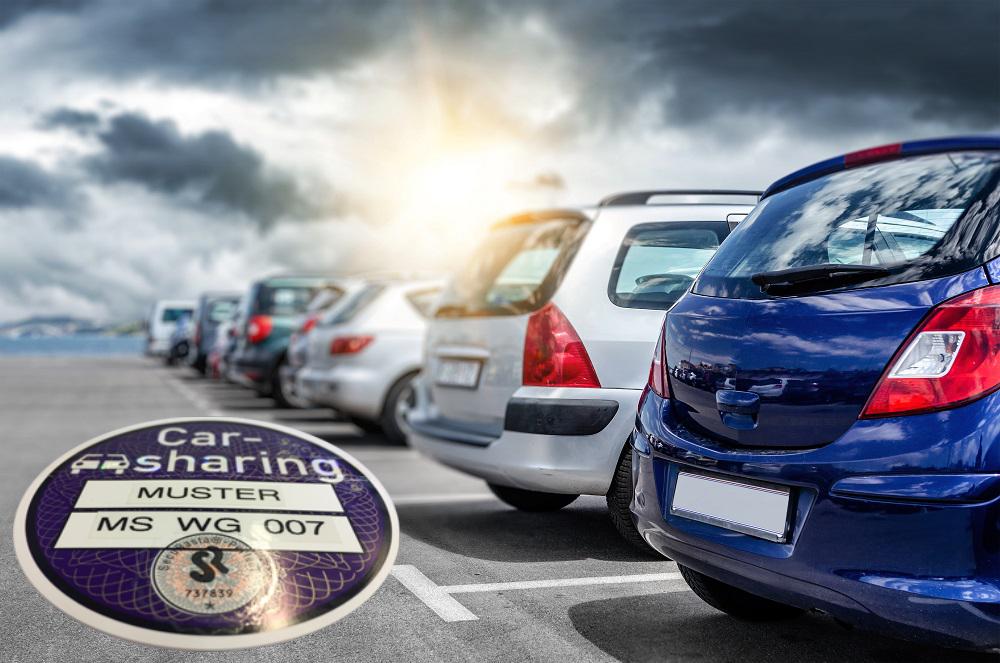 SecuRasta Carsharing Plakette 11 2020 - Carsharing-Plakette | safemark<sup>®</sup>