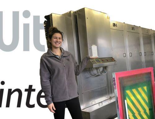 Drucktechnik erklärt: Vollautomatische Siebwäsche