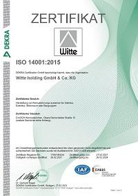 ISO 14001 de - Witte plusprint GmbH