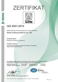 ISO 9001 de - Witte plusprint GmbH